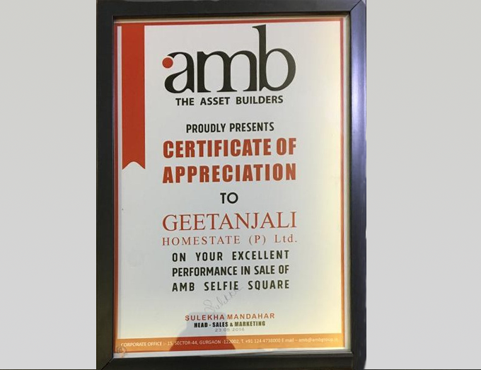 """Best Appreciation"" By AMB  Group 2016"