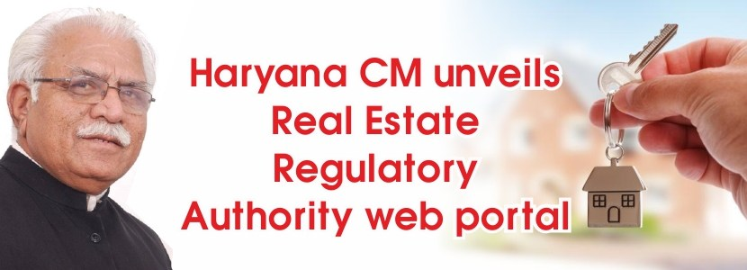 Haryana CM unveils real estate regulatory authority web portal