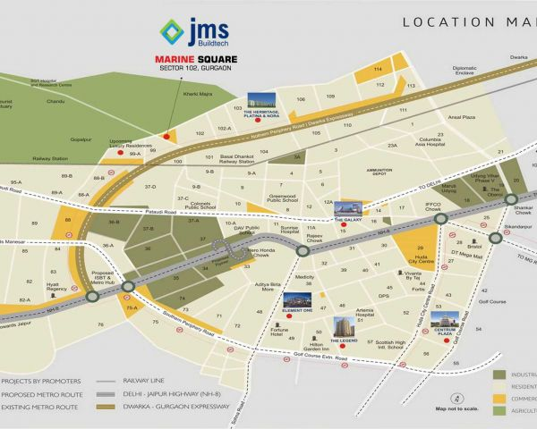 JMS Marine Square Gurgaon