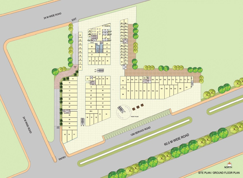 AIPL Joy Street Site Plan