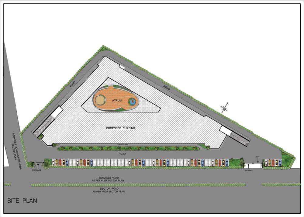 Raheja Trinity Site Plan