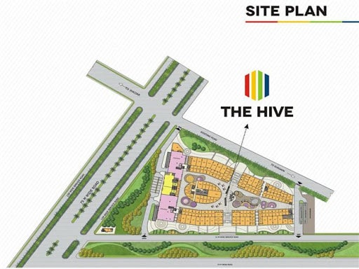 Satya The Hive Siteplan
